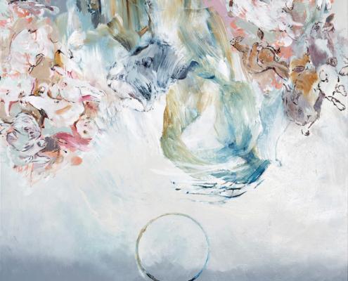 Summertime 2018 Öl auf Leinwand 180 x 150 cm